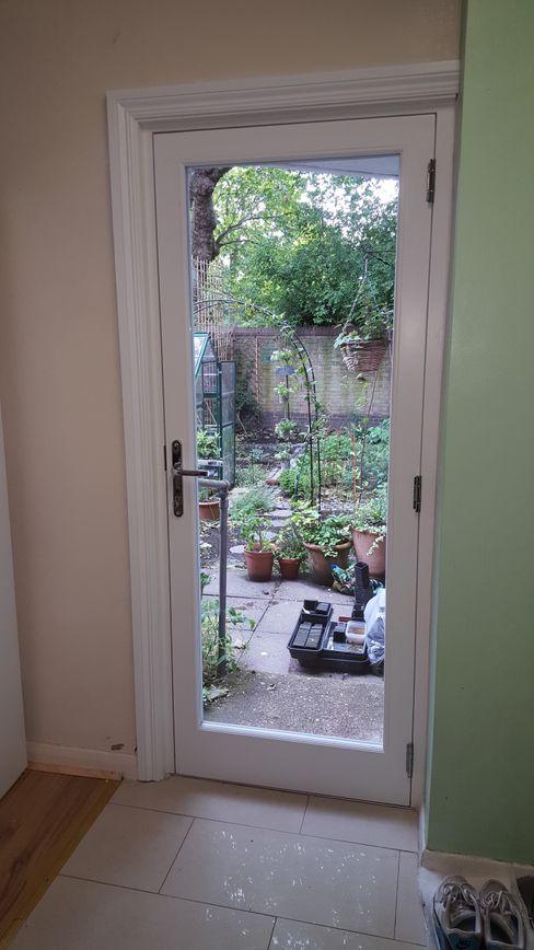Garden door Repair A Sash Ltd Wooden doors Engineered Wood White