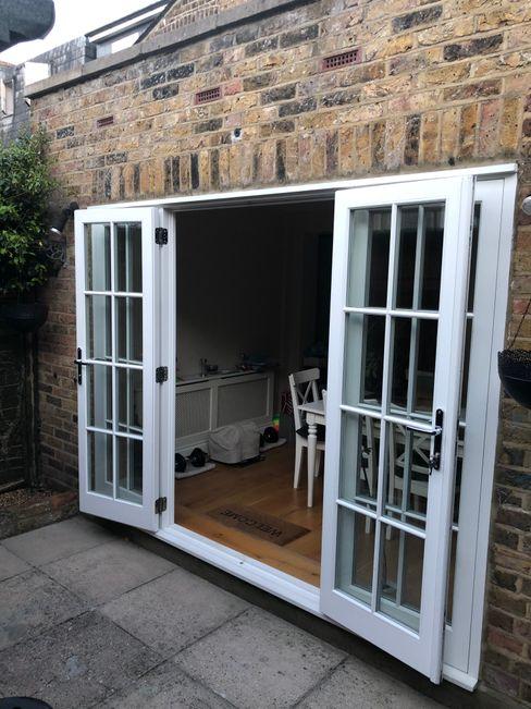 French doors Repair A Sash Ltd Wooden doors Engineered Wood White