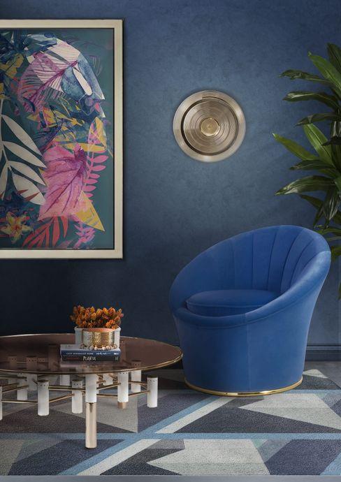 Crea un soggiorno in stile Mid-Century Essential Home Soggiorno moderno