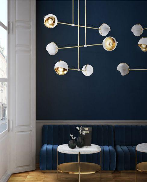 Oggettistica per casa moderna con blu indaco Essential Home Soggiorno moderno