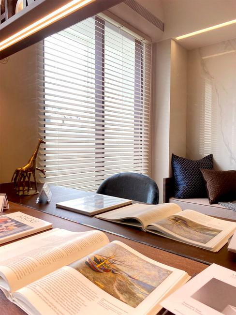 6招簡單佈置技巧,居家辦公也能公私分明|布織百葉簾 MSBT 幔室布緹 書房/辦公室 Beige