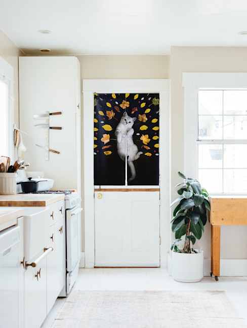 量身定做獨一無二的窗邊美好 -客製化圖案窗簾・大圖輸出窗簾・個人化訂製窗簾 MSBT 幔室布緹 廚房配件與布織品 White