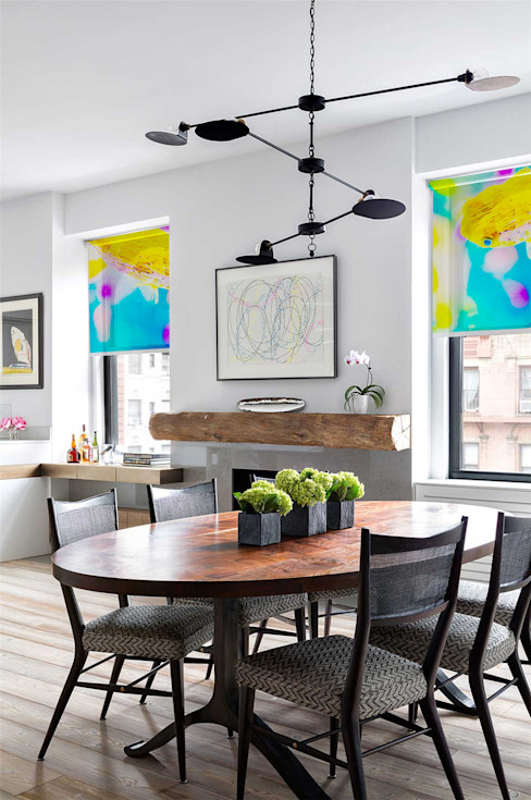 量身定做獨一無二的窗邊美好 -客製化圖案窗簾・大圖輸出窗簾・個人化訂製窗簾 MSBT 幔室布緹 餐廳 White