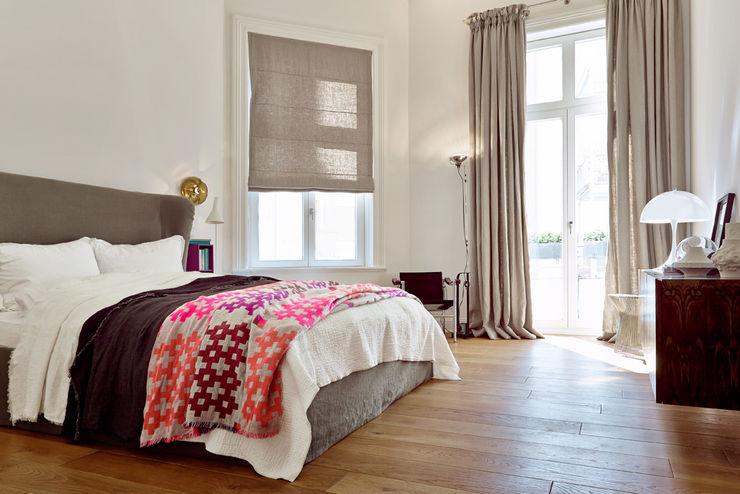 Projekt Harvestehude decorazioni Moderne Schlafzimmer