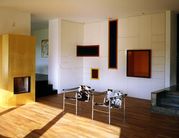 Villa L Architektur & Interior Design Wohnzimmer