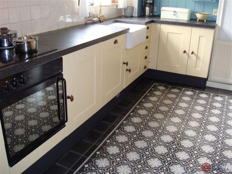 Kolory Maroka Mediterranean style kitchen