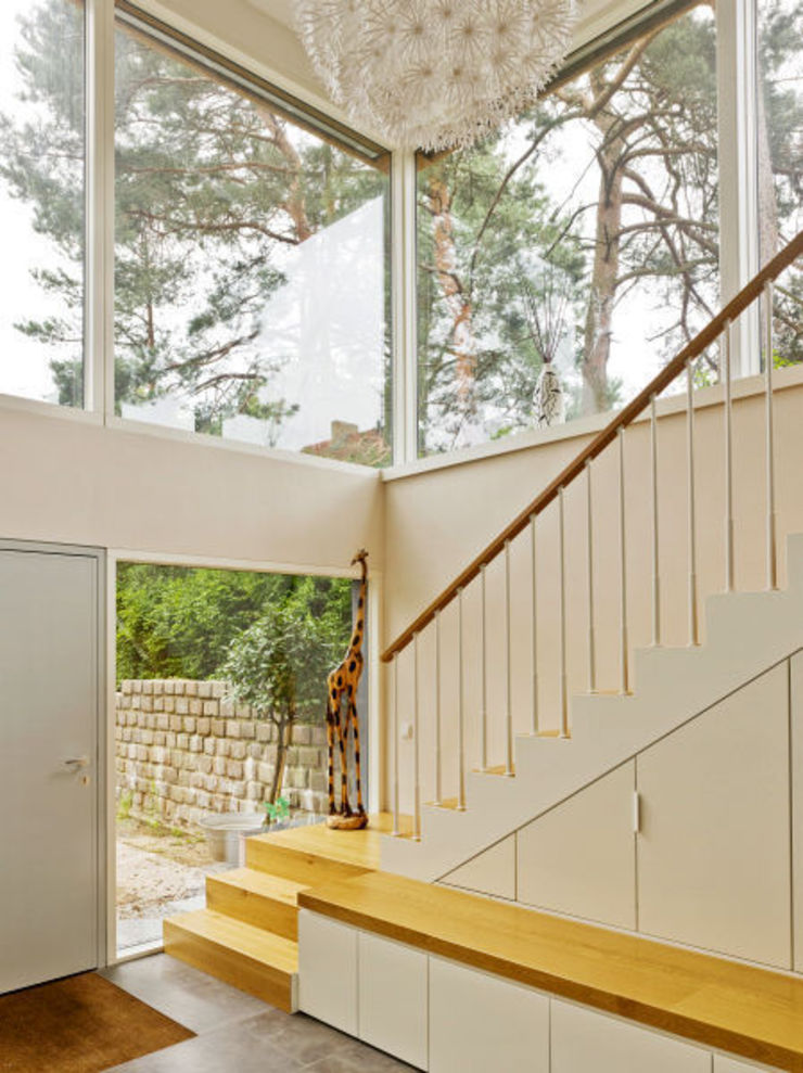 Innenarchitektur Berlin Modern Corridor, Hallway and Staircase