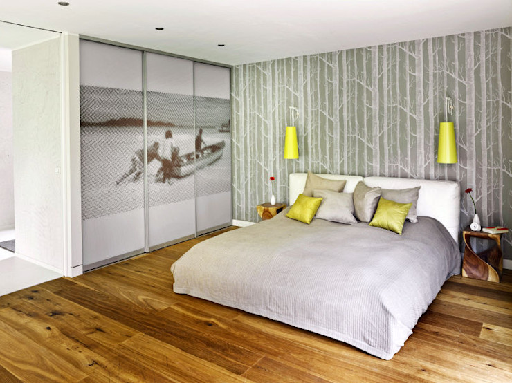 Innenarchitektur Berlin Modern Bedroom