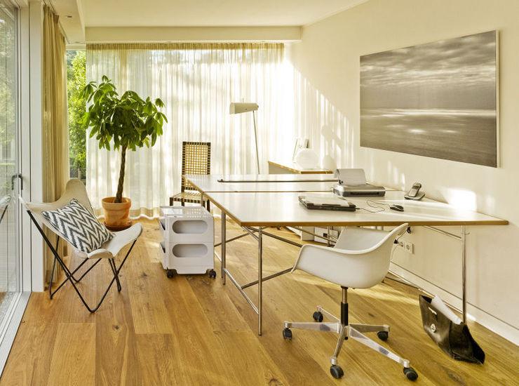 Innenarchitektur Berlin Modern Study Room and Home Office