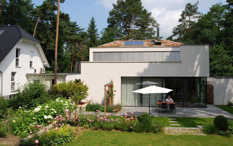 Wohnhaus S., Kleinmachnow Optigrün international AG Häuser