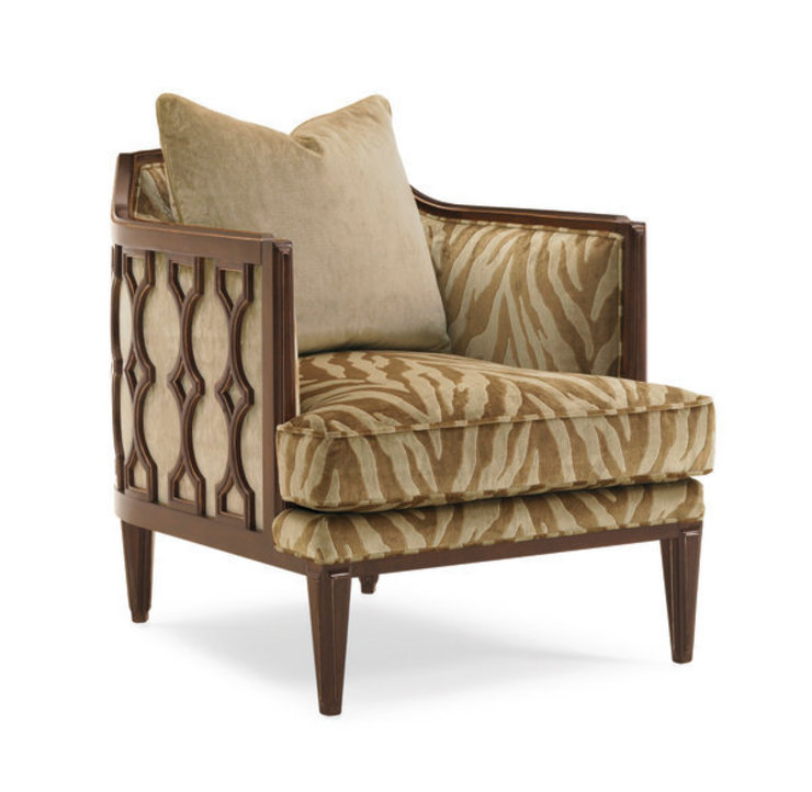 """Caracole """"THE BEES KNEES / PECAN FINISH"""" UPH-CHAWOO-29A Sweets & Spices Dekoration und Möbel WohnzimmerSofas und Sessel"""