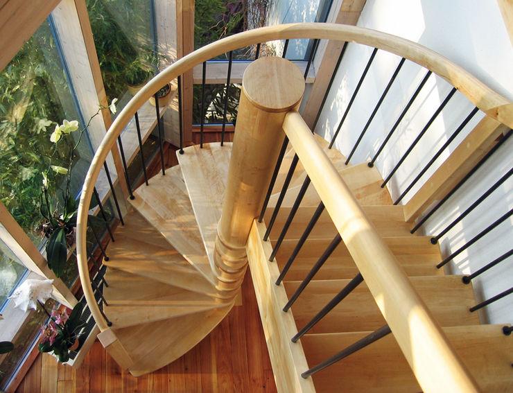 Lignum Möbelmanufaktur GmbH Corridor, hallway & stairs Stairs