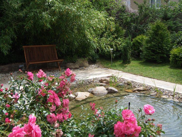 Schönberg. Pflanzdesign Jardin moderne