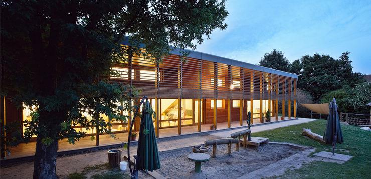 Außenanlagen A-Z Architekten Moderne Schulen