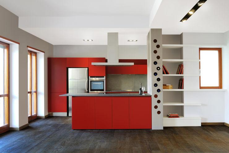 Living room CAFElab studio Dapur Gaya Industrial