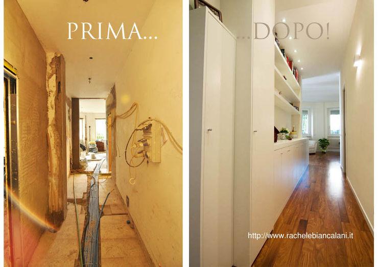 Rachele Biancalani Studio Modern corridor, hallway & stairs