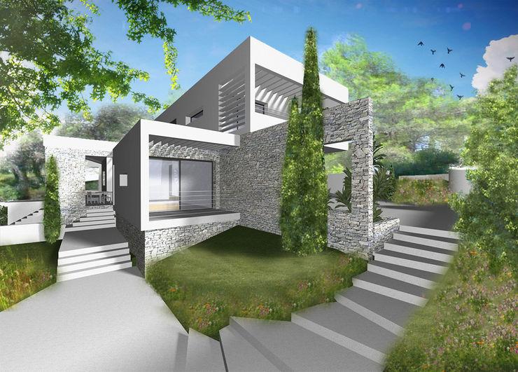 MAAD Architectes Casas modernas: Ideas, imágenes y decoración