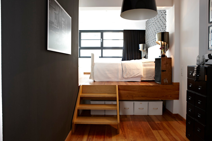 better.interiors オリジナルスタイルの 寝室