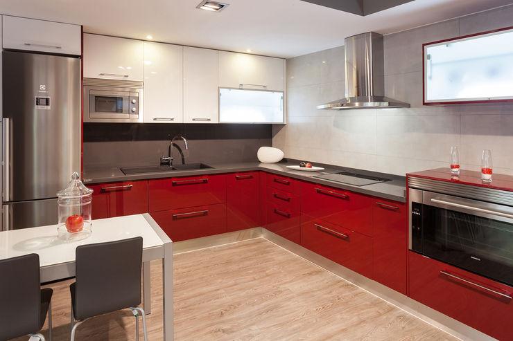 Cocinas Rio 現代廚房設計點子、靈感&圖片