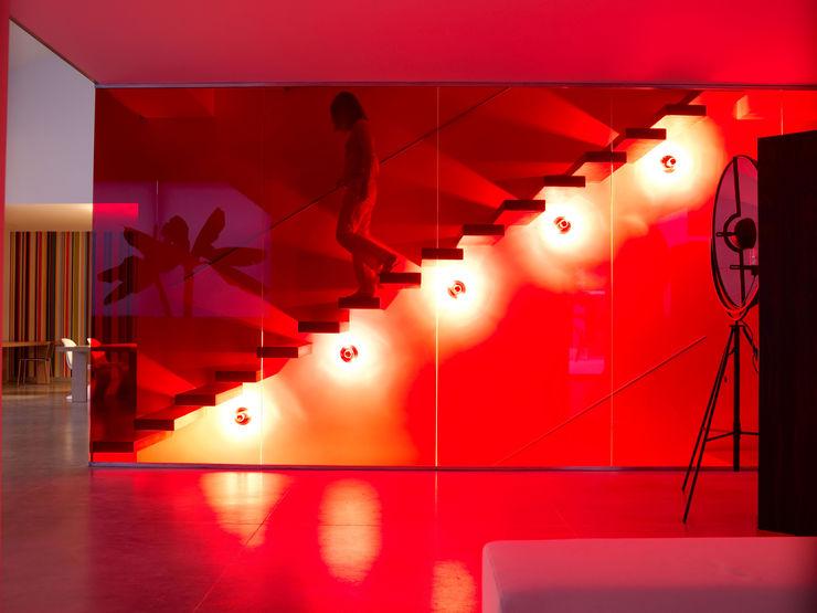 Buratti + Battiston Architects Pasillos, vestíbulos y escaleras
