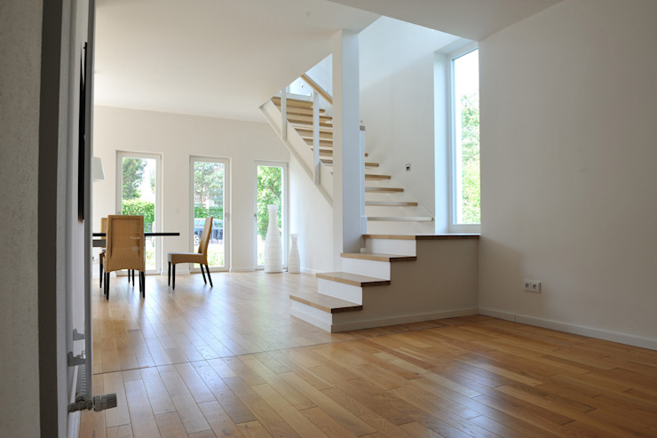 zymara und loitzenbauer architekten bda Livings modernos: Ideas, imágenes y decoración