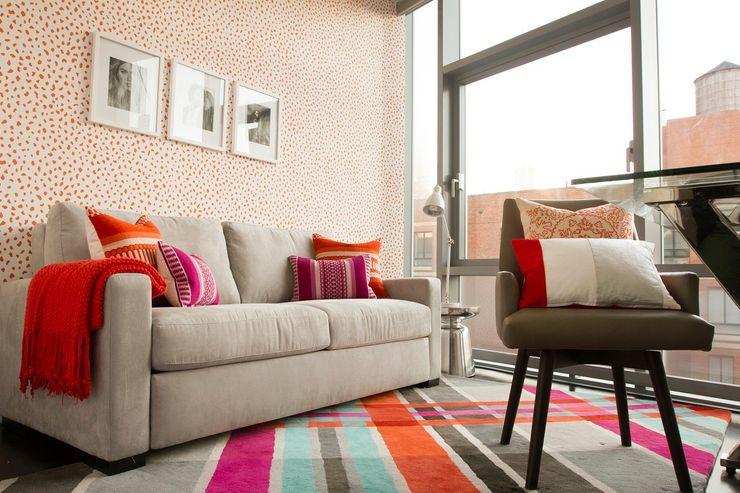 Hells Kitchen Penthouse Bhavin Taylor Design Study/office