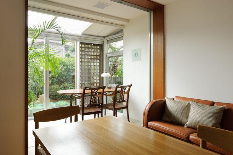 Kikumi Kusumoto/Ks ARCHITECTS 现代客厅設計點子、靈感 & 圖片