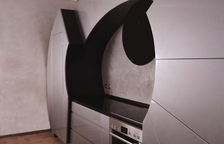 Cocinas con Curvatura como Diseño Innovador por Cucine Cassandra Decoration Digest blog Cocinas de estilo moderno