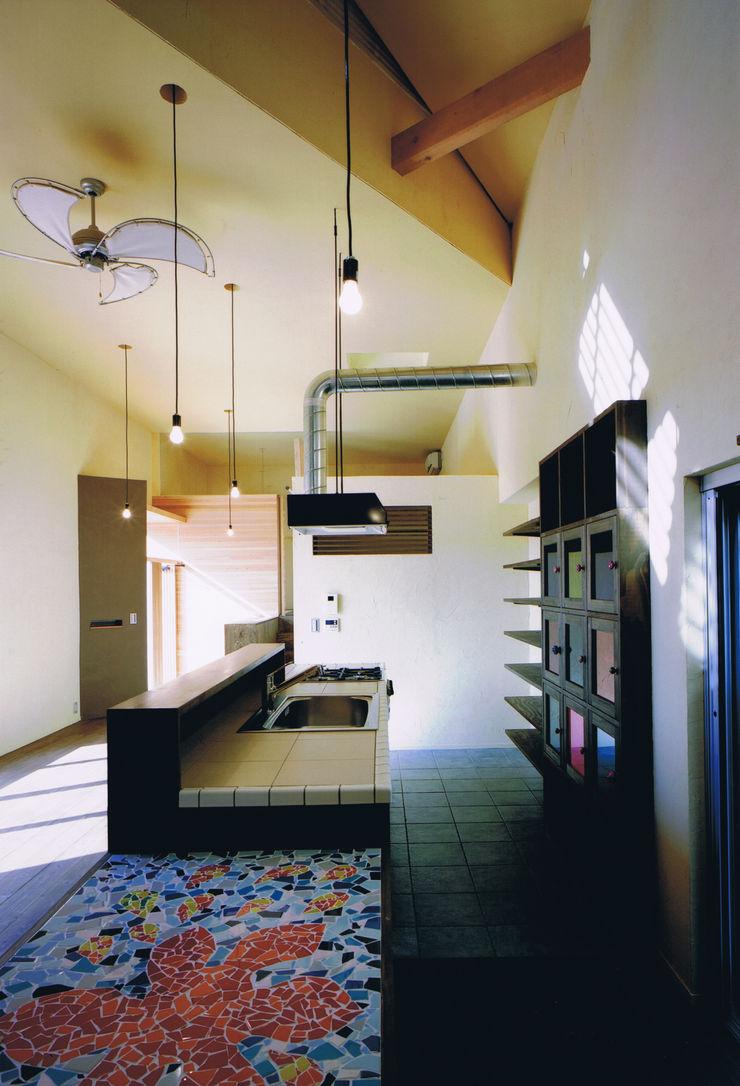 eu建築設計 Cocinas de estilo ecléctico