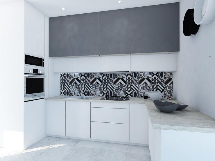 FOORMA Pracownia Architektury Wnętrz Modern kitchen