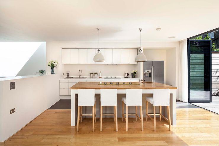 Courtyard House - East Dulwich Designcubed Modern Mutfak