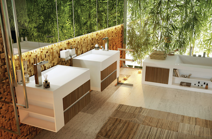 Architettura & Servizi Baños modernos