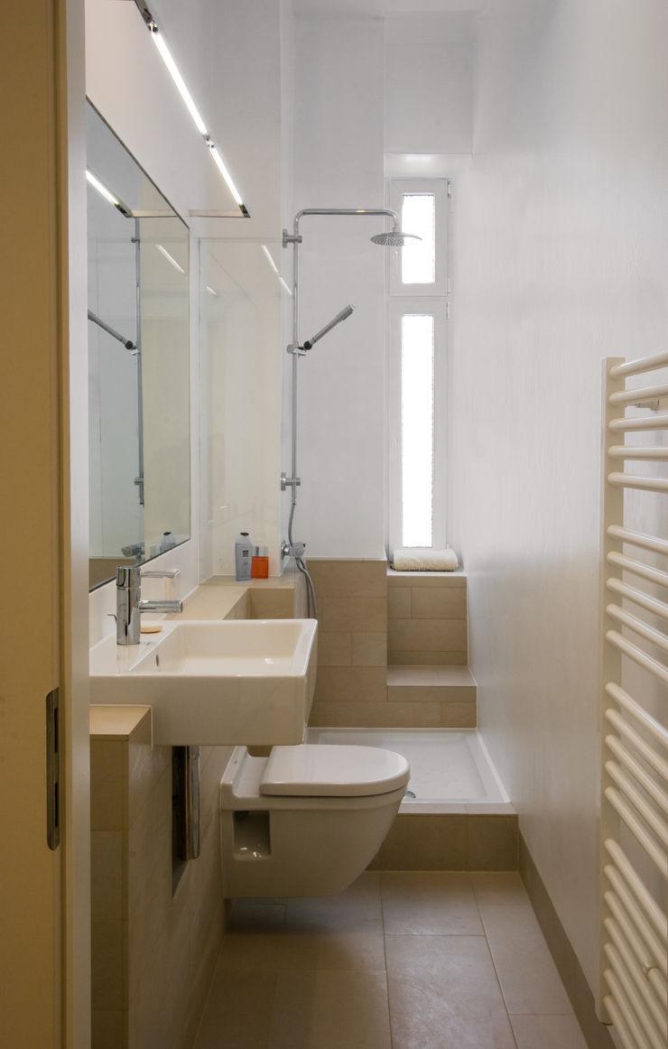 Nickel Architekten Moderne badkamers