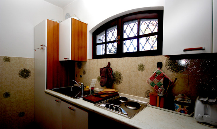 Villa Lago Maggiore - Italia Marco Barbero Cucina in stile rustico