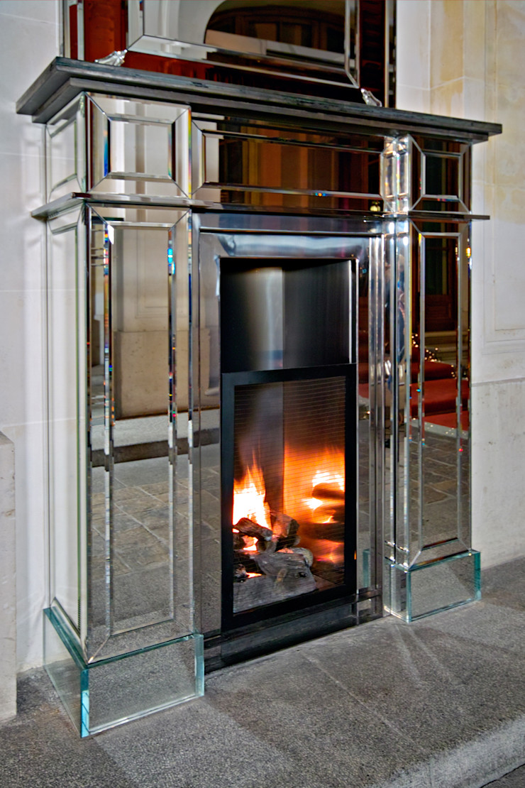 Bloch Design Living roomFireplaces & accessories