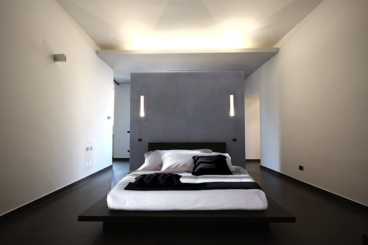 Diego Bortolato Architetto Modern style bedroom