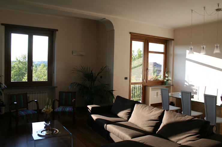 enrico massaro architetto Modern living room