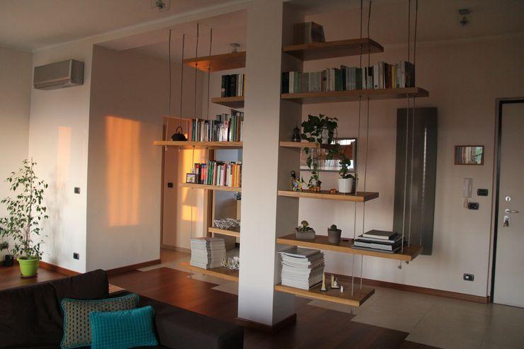 enrico massaro architetto Salas de estar modernas