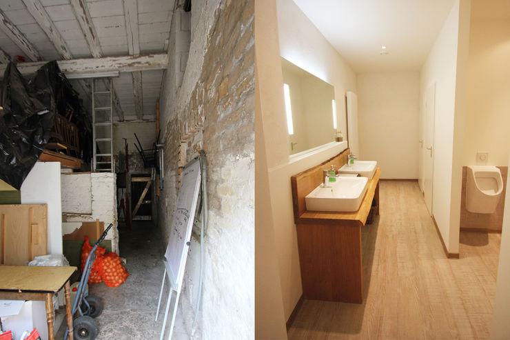 Herrentoilette Vorher/ Nachher Wohnwert Innenarchitektur