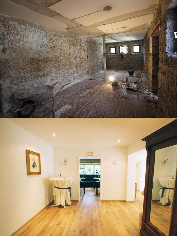 alter Toilettenbereich wird Gerderobe und neuer Gastraum Wohnwert Innenarchitektur