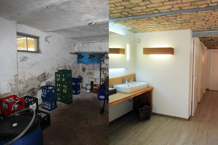 Damentoilette Vorher/ Nachher Wohnwert Innenarchitektur