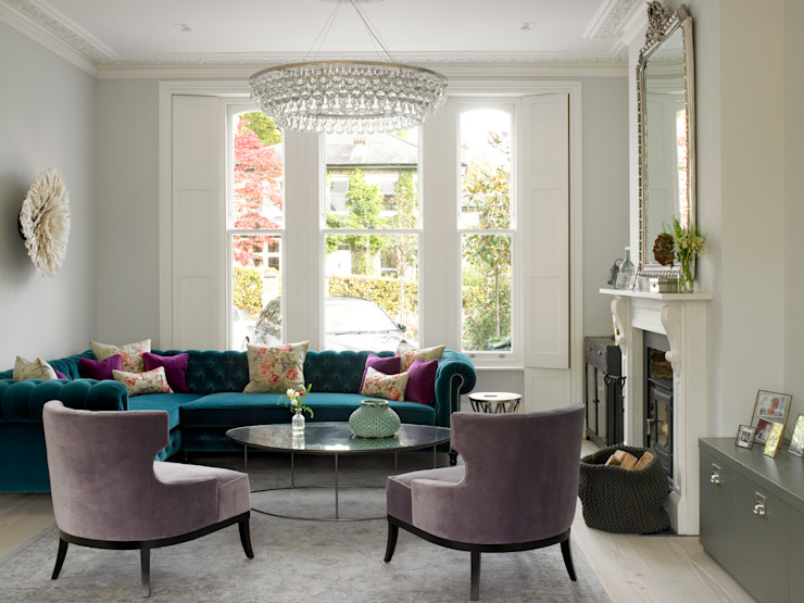 Wimbledon LEIVARS Ruang Keluarga Modern