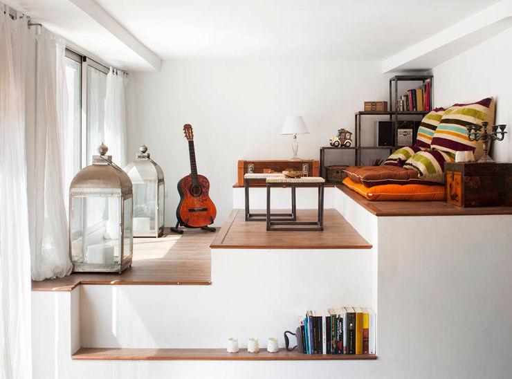VIVIENDA OLIANA The Room Studio Salones de estilo escandinavo