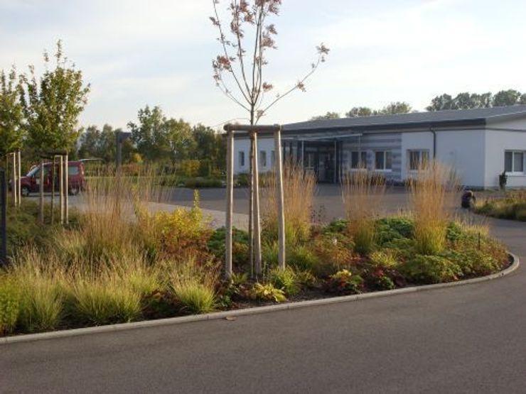 Außenanlage an der Dialysepraxis Bad Königshofen KAISER + KAISER - Visionen für Freiräume GbR Garten