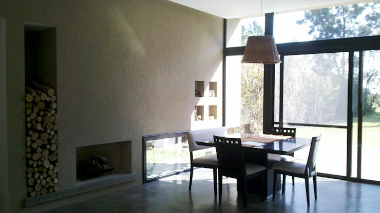 CC|arquitectos Modern dining room