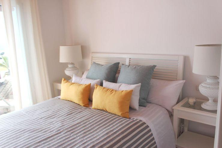 Tatiana Doria, Diseño de interiores Dormitorios de estilo mediterráneo