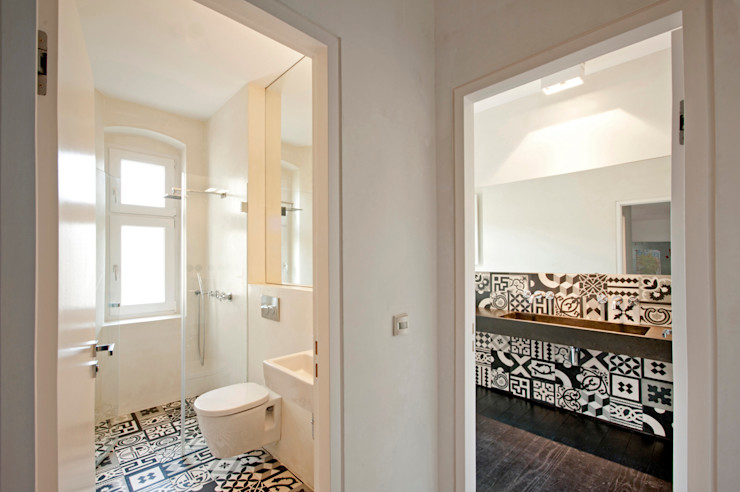 büro für interior design Eclectic style bathroom