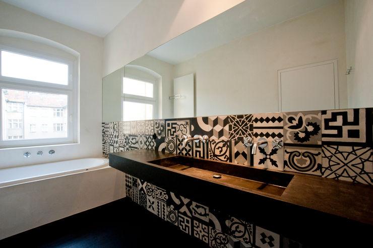 Privatwohnung Berlin Kreuzkölln büro für interior design Ausgefallene Badezimmer