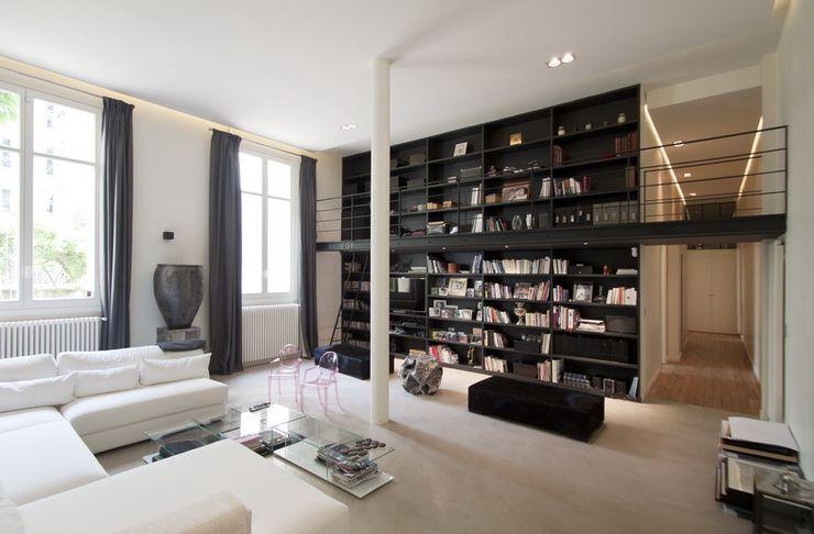 FELD Architecture Moderne Wohnzimmer