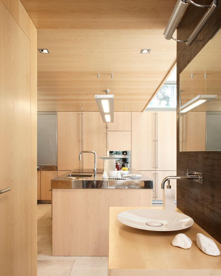House at Tamariu Octavio Mestre Arquitectos Kitchen